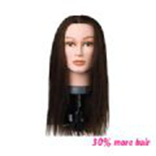 ALEXIA MANNEQUIN HEAD - BROWN - LONG - INDIAN