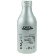 LOREAL | SILVER | GLOSS PROTECT SYSTEM | SHINE SHAMPOO FOR GREY AND WHITE HAIR | 250ML