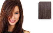 E-CLIPS TAPE HAIR EXTENSIONS #6 50CM 1 PIECES