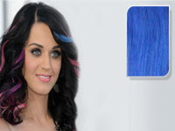 E-CLIPS TAPE HAIR EXTENSIONS #BLUE 50CM 1 PIECES