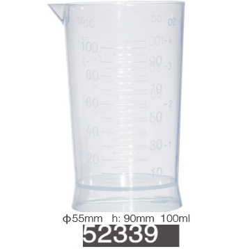 JOZELLE MEASURING CUP 100ML CLEAR