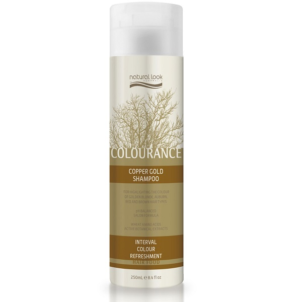 Natural Look Colourance Copper Gold Shampoo 250ml