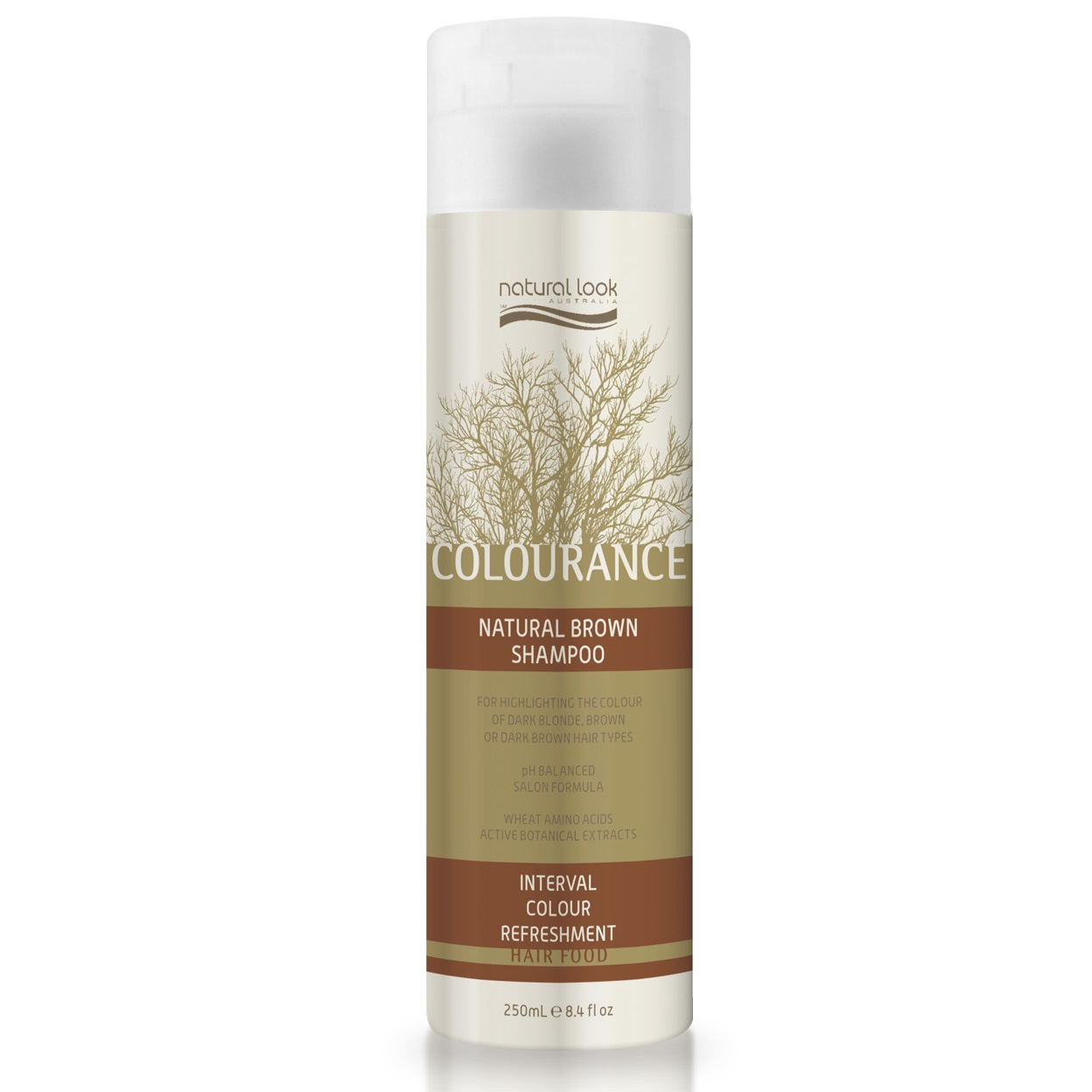 Natural Look Colourance Natural Brown Shampoo 250ml