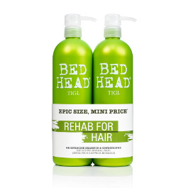 BED HEAD RE-ENERGIZE SHAMPOO & CONDITIONER DUO PACK 750ML