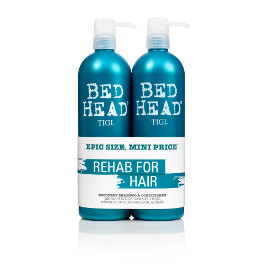 BED HEAD RECOVERY SHAMPOO & CONDITIONER DUO PACK 750ML