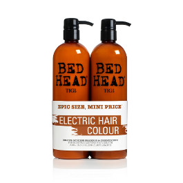 BED HEAD COLOUR GODDESS OIL INFUSED SHAMPOO & CONDITIONER DUO PACK 750ML