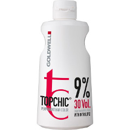 GOLDWELL TOPCHIC CREME DEVELOPER LOTION 9% 30 VOL 990ML