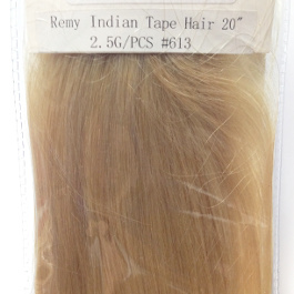 JOZELLE TAPE HAIR EXTENSIONS #613 REMY INDIAN