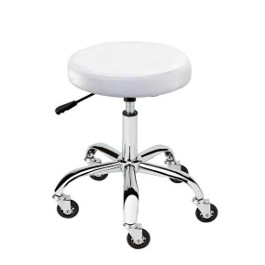 AQUA BEAUTY STOOL CHROME BASE