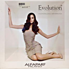 ALFAPARF EVOLUTION OF THE COLOR CUBE COLOR CHART