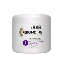 MAKARIZO REBONDING SYSTEM - REBONDING CREAM FOR EXTREMELY DAMAGED HAIR 500GRMS