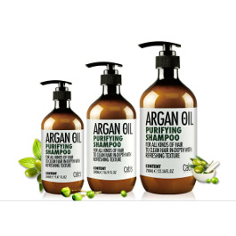 CAB'S ARGAN OIL PURIFYING SHAMPOO 500ML / 750ML