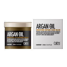 CAB'S ARGAN OIL MOISTURE REPAIR HAIR MASK 500ML