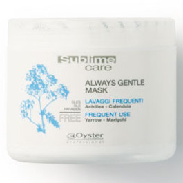 OYSTER SUBLIME CARE ALWAYS GENTLE MASK - FREQUENT USE 500ML