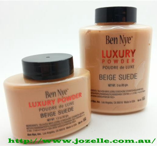 BEN NYE BEIGE SUEDE LUXURY POWDERS