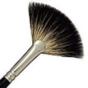 DA VINCI FAN BRUSH