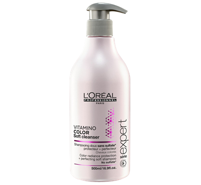 LOREAL | VITAMINO COLOR AOX | COLOR RADIANCE PROTECTION PERFECTING SOFT SHAMPOO | 500ML