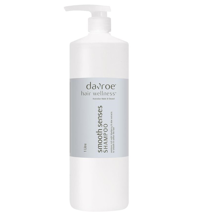 DAVROE SMOOTH SENSES ANTI-FRIZZ SHAMPOO 1LITRE
