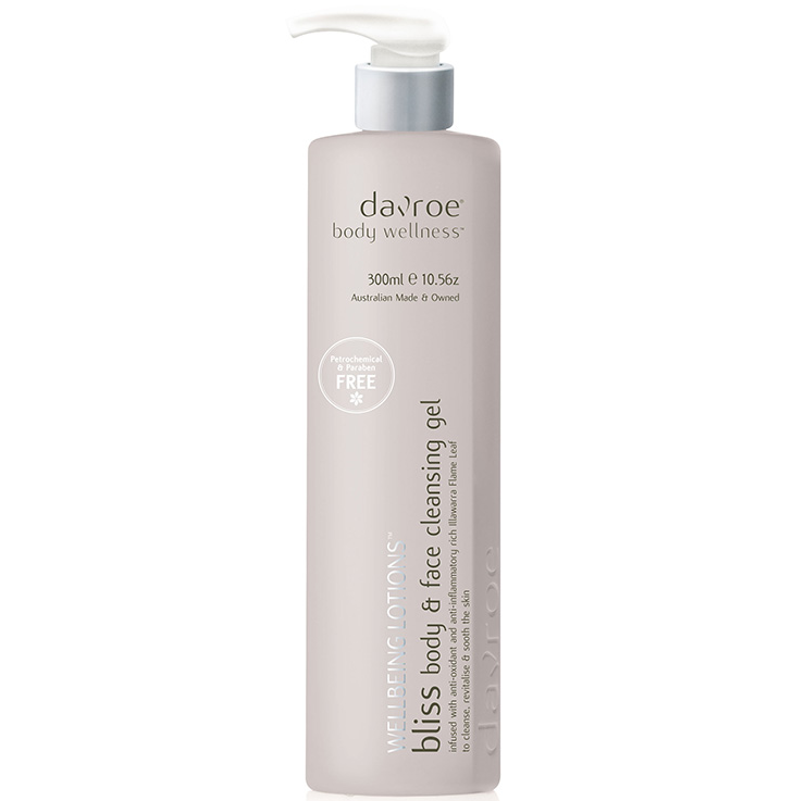 DAVROE BLISS BODY WASH 300ML -bliss body wash and face cleansing gel