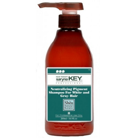 SARYNA KEY | Neutralizing Pigment Shampoo for White and Gray Hair 500ml