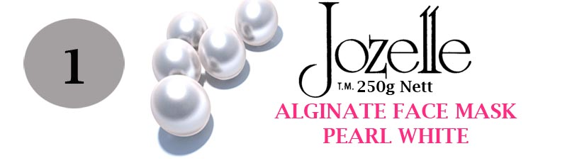 1.JOZELLE ALGINATE FACE MASK 250g / PEARL - SMOOTHS AND WHITENS