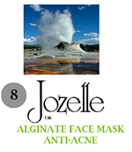 8.JOZELLE ALGINATE FACE MASK 500G /ANTI-ACNE- ABSORBS OIL & PREVENTS PORE CLOGGING