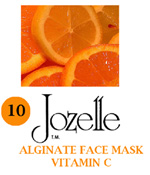 10.JOZELLE ALGINATE FACE MASK 1KG /VITAMIN C-WHITENING & MOISTURISING