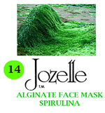 14.JOZELLE ALGINATE FACE MASK 1KG /SPIRULINA-ADD NOURISHMENT,PREVENT PIGMENTATION