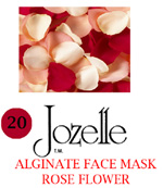 20.JOZELLE ALGINATE FACE MASKS 250G /ROSE FLOWER-GIVES SKIN A SMOOTH & FIRM APPEARANCE