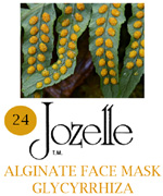 24.JOZELLE ALGINATE FACE MASK 500G /GLYCYRRHIZA-PREVENTS PIGMENTATION