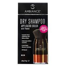 AMBIANCE DRY SHAMPOO APPLICATER BRUSHER -RED