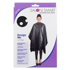 SALON SMART DESIGN ME BLACK CUTTING CAPES