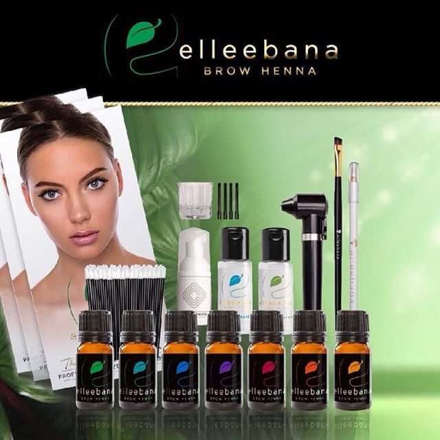 Beauty Liquid Product Elleebana Brow Henna Elleebana Brow