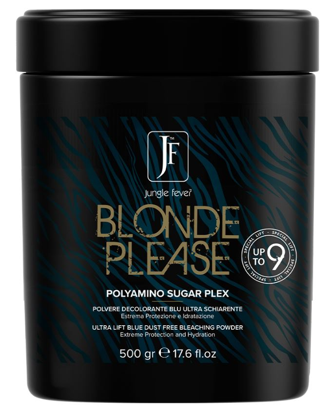 JUNGLE FEVER BLONDE PLEASE 9 LEVEL BLEACH POWDER