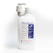 MICROSHIELD ANTIMICROBIAL  BACTERIA HAND GEL 500ML