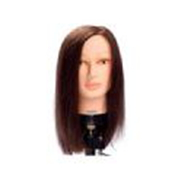 ALISON MANNEQUIN HEAD - BROWN - MEDIUM - INDIAN