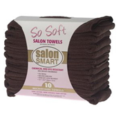 SO SOFT MICROFIBRE SALON TOWELS CHOCOLATE (10 PACK)