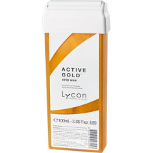 LYCON STRIP WAX CARTRIDGE - ACTIVE GOLD 100ML