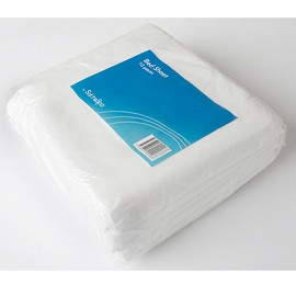 SALON & SPA DISPOSABLE BED SHEET SINGLE FLAT (10 PACK)