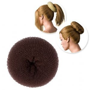 DRESS ME UP | HAIR DONUT - SPONGE, BROWN, MEDIUM 13G