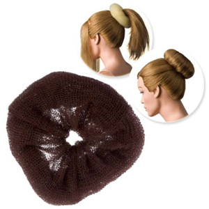 DRESS ME UP | HAIR DONUT - REGULAR, BROWN, EXTRA LARGE, 16G