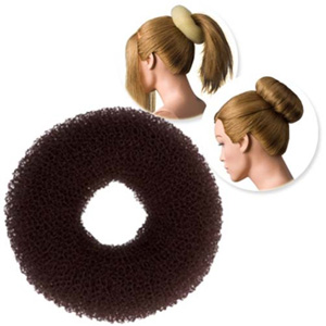 DRESS ME UP | HAIR DONUT - REGULAR, BROWN, LARGE, 11G