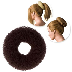 DRESS ME UP | HAIR DONUT - REGULAR, BROWN, MEDIUM 11G