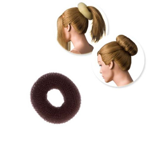 DRESS ME UP | HAIR DONUT - REGULAR, BROWN, SMALL, 6G