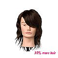 JENNIFER MANNEQUIN HEAD - BROWN - SHORT - INDIAN