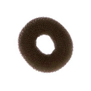 SOLIDA KNOTENRING HAIR DONUT - BROWN 8CM