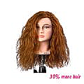 JESSICA MANNEQUIN HEAD - RED - LONG - INDIAN