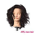 CHER MANNEQUIN HEAD - BROWN - SHORT - INDIAN