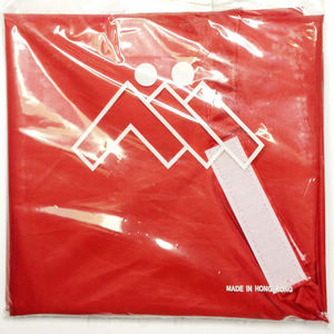 AWARE (AII) WATER PROOF NYLON CAPE RED VELCRO