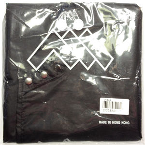AWARE (AII) WATER PROOF NYLON CAPE BLACK STUD